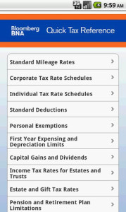 bna tax reference