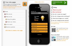 mobile website reseller