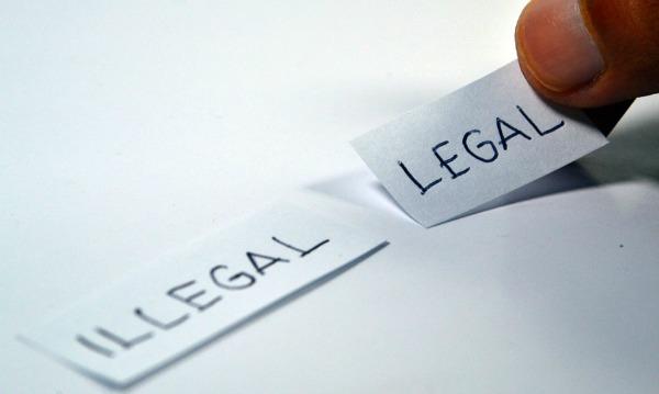legal illegal